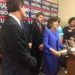 Hochul wins lieutenant governor nomination, though obscure challenger gets 40%