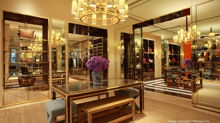 bc4cd61c756e The interior of a Tory Burch store. The boutique retailer will be opening a  new