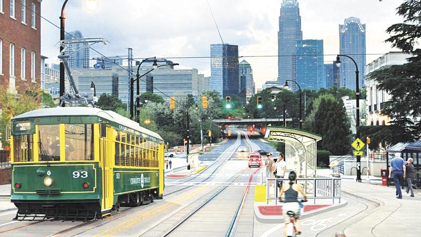 Charlotte streetcar delayed three months charlotte business journal for Interior car detailing charlotte nc