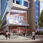 Construction begins on much-debated, design intensive 12-story Uptown tower