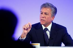 SAP's Bill McDermott said that Hewlett-Packard let them know Autonomy was available. SAP wasn't interested.
