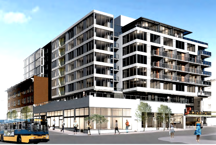 Madison Development Group plans to start construction of a 180-unit apartment and retail project in September, company officials said Monday.