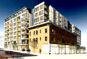 """Some of the block's """"character structures,"""" or old buildings, will be incorporated into the development."""