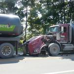 With more large trucks on the road comes increased concerns over safety