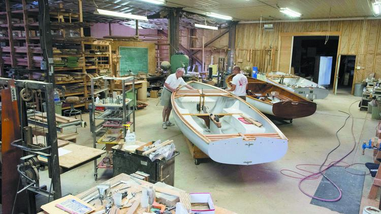 Great Midwest Yacht Co  crafting classy sailboats in Sunbury