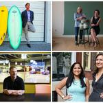 Upstarts to watch: A surfing CEO, colorful creators, and the music man