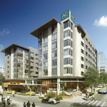 Over the threshold: Bellevue OKs design of 7-story downtown hotel