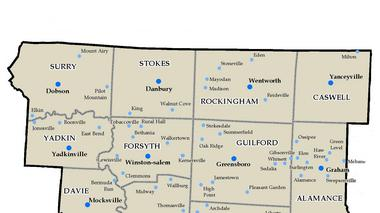 How well do you know the Piedmont Triad counties?