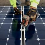 Where does Denver rank in the top 10 U.S. cities for solar power?