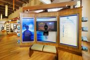 The Church of Scientology's Portland location includes this permanent exhibit.
