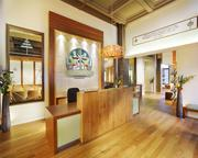 The Church of Scientology's Portland location includes a public information center where visitors can take a self-guided tour.