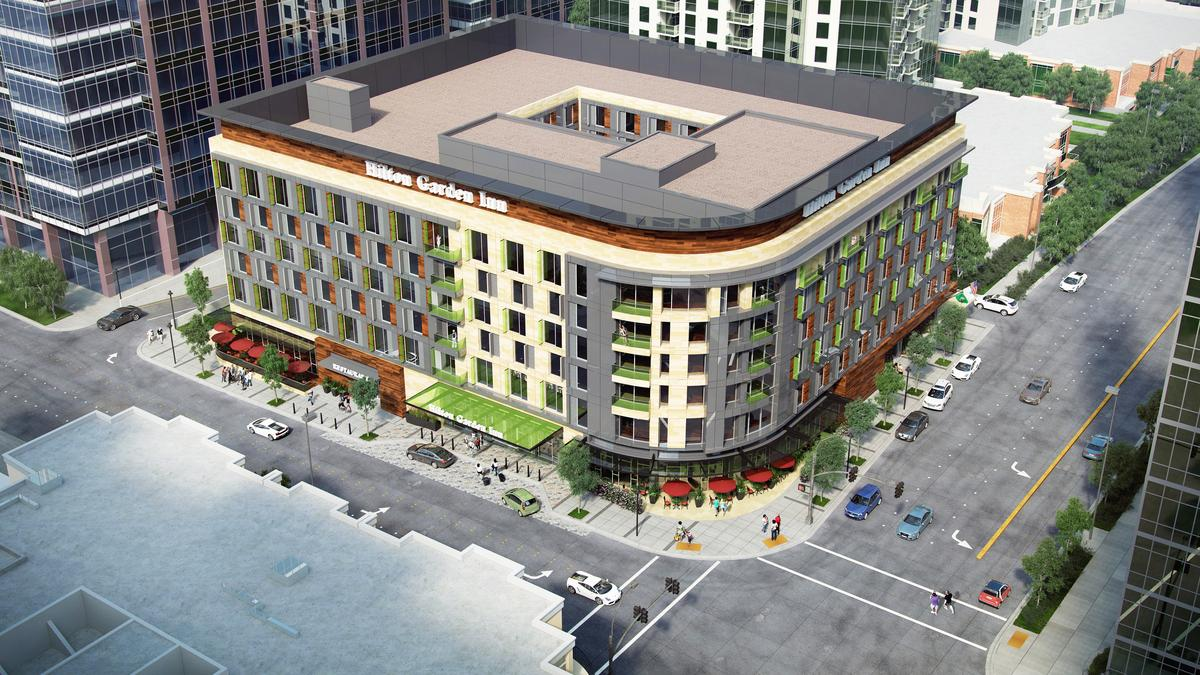 Here 39 S The Latest Hotel Coming To Downtown Bellevue Puget Sound Business Journal