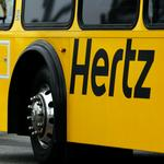 United Airlines inks exclusive partnership with Hertz
