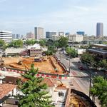 Uptown tower changes its name; work underway at former Hard Rock site