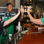 Pete Carroll and Seahawks players to play guest baristas at Starbucks