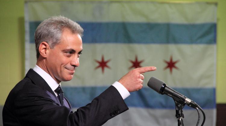 What Chicago Mayor Rahm Emanuel wants, he usually gets.