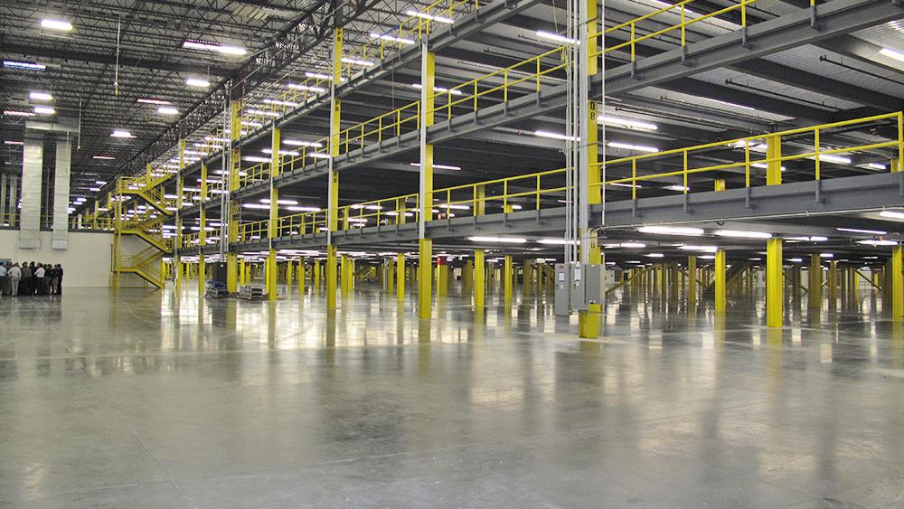 First Look Inside Amazon S 1 Million Square Foot Baltimore