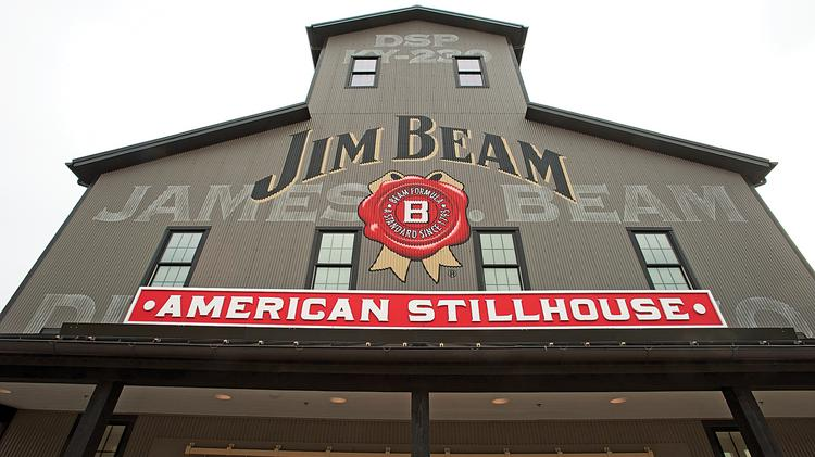 The Jim Beam Distillery in Clermont, Ky., is among the distilleries featured in a Los Angeles Times article.