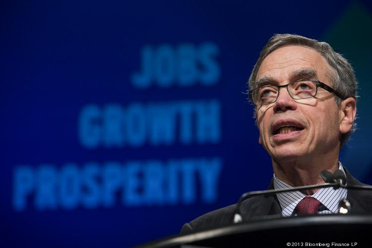 Joe Oliver, Canada's natural resources minister
