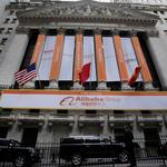Alibaba takes off on NYSE (Video)