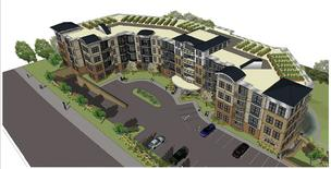 Proposed Tonka on the Creek apartments in Minnetonka