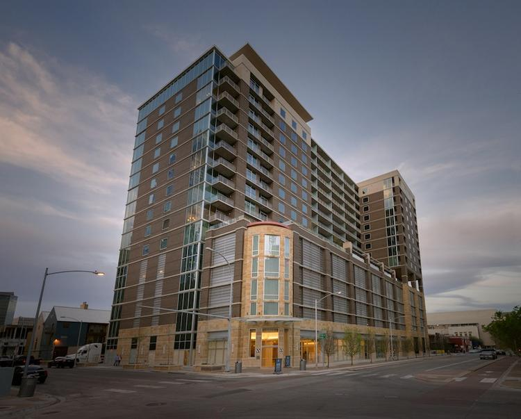 Whitley is the newest residential community in downtown Austin featuring contemporary units by Riverside Resources.