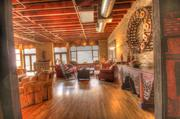 The Brazos Lofts were created from 1930s era warehouses.