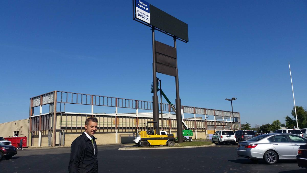 Lindsay Honda Building Dealership At Old Scarborough Mall Site, Keeping  Movie Theater   Columbus   Columbus Business First