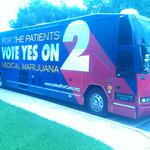 John Morgan — and his campaign bus — roll into Jacksonville to gain support for medical marijuana