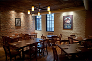 The dining room at the Heavy Seas Alehouse in Baltimore.