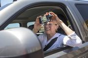 Mary Mayfield was taking a photo of the restaurant out of her car window to send to her daughter, who lives out of state.