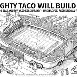 Mighty Taco 'proposes' new stadium (on wheels) for Buffalo Bills