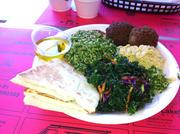 Many of the items on the Whiteway Deli's menu are Mediterranean and Middle Eastern.