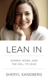 """Facebook COO Sheryl Sandberg's book """"Lean In"""" was mentioned by several attendees in advance of the panel discussion as something that motivated them to attend."""