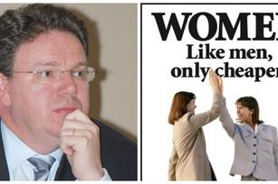 Tech founder enrages with 'Women are like men only cheaper' remark
