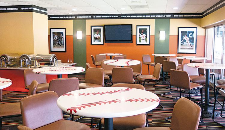 Orioles suites are becoming popular for birthdays, bar mitzvahs and similar events.