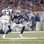 Cowboys demote first-round pick Claiborne, he walks away