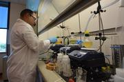 Ignacio Figueroa, a senior scientist for Glycom is working to synthesize and commercialize human milk oligosaccharides.