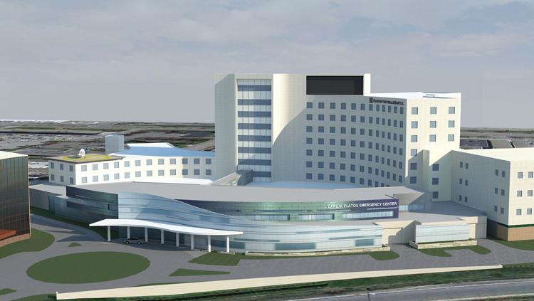A rendering of a proposed expansion of the emergency department at Fairview Southdale Hospital in Edina.