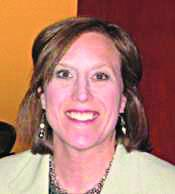 Caroline Portis is CFO of The Boppy Co. of Golden, which makes baby and maternity pillows.