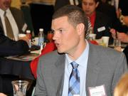 John Kopilchack of Synergy Building Systems at the 2013 Spring Defense Forum.