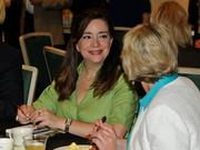 Brenda Ramos of Projects Unlimited at the 2013 Spring Defense Forum.