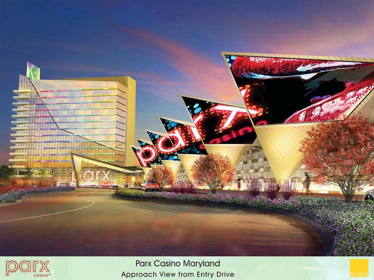 A rendering of the Parx Casino Hotel & Spa