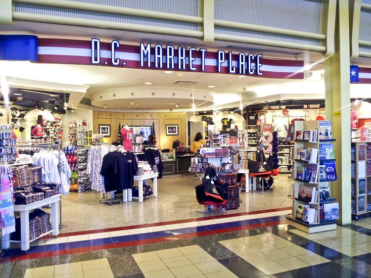 D.C. Market Place is among the retail offerings at Reagan National Airport. More than 80 percent of retail leases at National and Dulles International Airport are expiring in the next couple of years, which gives the airports an opportunity to revamp their tenant lists.