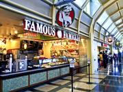Famous Famiglia is among the retail offerings at Reagan National Airport.