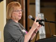 Barbara Duncombe, partner at Taft Stettinius & Hollister LLP in Dayton, talked about the defense cuts and legal issues surrounding the sequestration that will impact many businesses.
