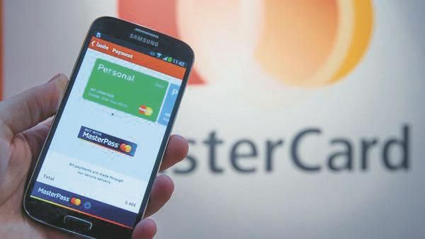 MasterCard is developing technology that will enable customers to use their smartphones to buy goods online or in stores.