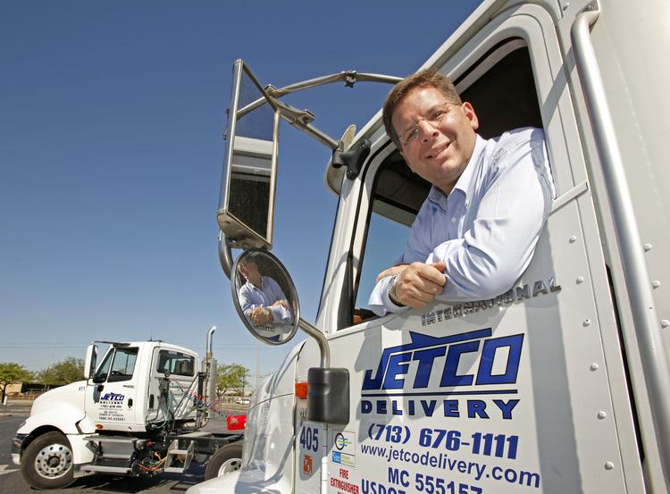 Brian Fielkow, owner and president of Jetco Delivery