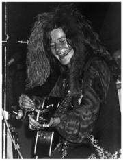 The Janis Joplin photo was taken in 1970, not long before she passed away. She was a surprise guest at an outdoor concert / birthday party in Austin for Kenneth Threadgill. Threadgill ran a beer joint / restaurant in Austin and gave Janis her start as a performer.