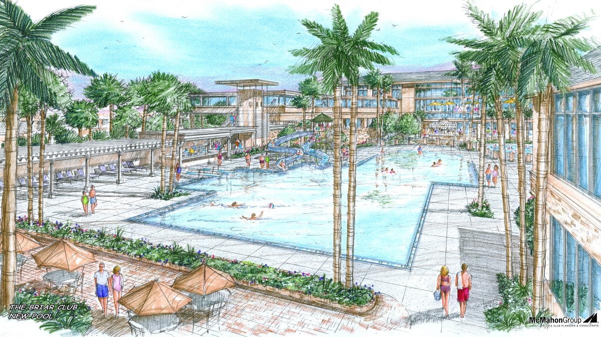 Houston 39 S Briar Club Renovation Moves Forward With New